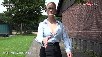 My Dirty Hobby - Blondehexe the nympho teacher 5 min