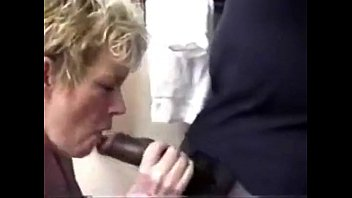 Blonde sucking bbc-who is the girl at 1min14sec