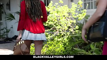 BlackValleyGirls- Hot Teen Julie Kay Steals and Fucks Boyfriend