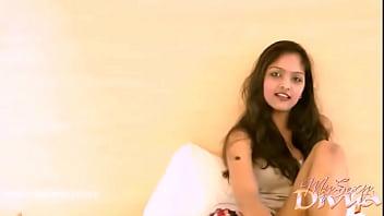Hot indian girl Divya masturbating on cam 2 min