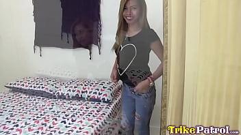 Asian Sex Diary! 18yo sexy little filipina fox fucking in short time hotel