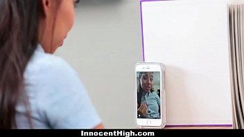 InnocentHigh - Schoolgirl (Jasmine Summers) Offers To Be Teachers SexToy