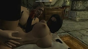 [Skyrim] Anri The Seducer gets fucked by Raerek