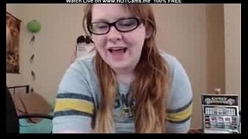 Big Ass Young Chubby Redhead With Glasses Masturbate