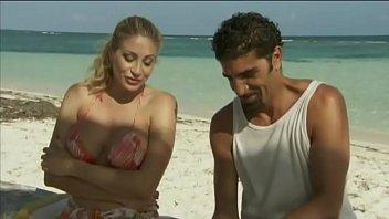 Italian Pornstar Vittoria Risi Screwed By Two Sailors On The Beach