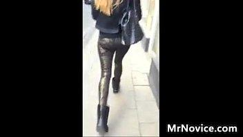 Blonde With A Great Ass Gets Followed