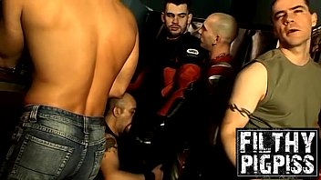 """Beefy homo group deepthroat and pissing <span class=""""duration"""">9 min</span>"""