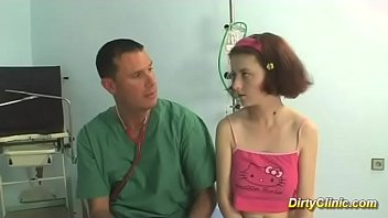 young redhead teen gets fucked by her doctor