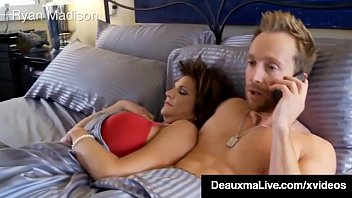 Southern Milf Deauxma Has Cock & Pussy Fucking Threesome!