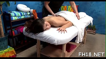 Gorgeous eighteen year old cutie gets a massage and a a lot greater quantity from her massage therapist, jake!