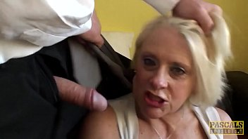 PASCALSSUBSLUTS - c. granny Carol gets rough anal sex