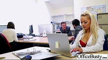 (lou lou) Busty Slut Girl Banged Hardcore In Office clip-28