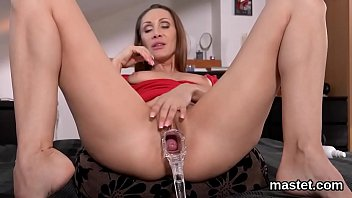 Nasty czech sweetie opens up her soft twat to the peculiar