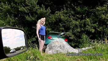 Car crash teens in lancaster Busty blonde teen bangs stranger outdoor