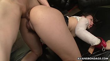 Maki Kozue is a perfect sex slave in every way