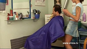 Mature man seduced by a young naughty hairdresser porno izle