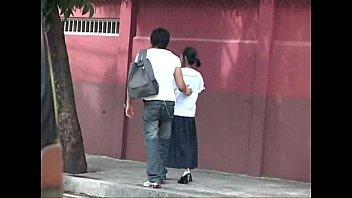 Asian หีนักเรียนวัยรุ่นโดนเย็ด
