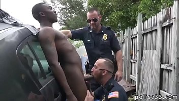 Black gay cops kissing porn Serial Tagger gets caught in the Act