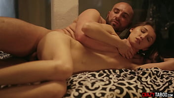 Crazy big cock guy finished great work in babes Maya Woulfe house and pussy