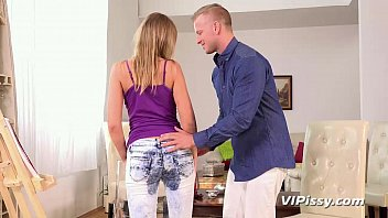 Jeans piss 2007 jelsoft enterprises ltd - Anal fucking for blonde babe after pee desperation in denims