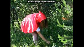 Little Red Riding Hood fucking with Panda in the wood thumbnail