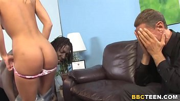 Cuckold Father Cries While Her Daughter Fucks BBC