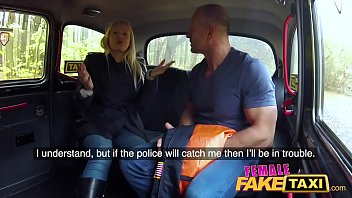 Female Fake Taxi Busty curvy squirting blonde driver creampied by passenger 12 min