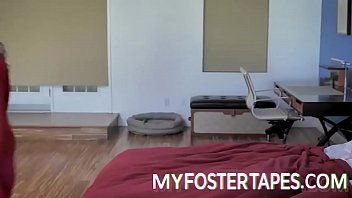 They employ a physical approach to make a strong impression on their new foster daughter. Video of this case is available upon request. - FULL SCENE on https://MyFosterTapes.com