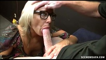 Drew carey sucks - Horny blonde milf cock sucking