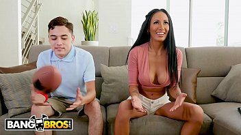 BANGBROS - Football Night Turns Into Fuck Night with Busty Amia Miley