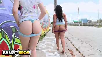 BANGBROS - Ass Parade With Latin Babes Angel Cakes and Angelina Castro