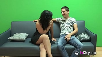 Montse achieves her goal, get her face sprayed in Kevin Coto's jizz.