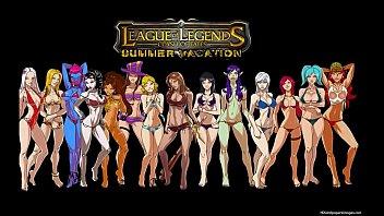 League of legends Hentai 3 min