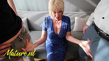 British Cougar Didn't Expect To Get Double Penetrated By 2 Big Dicks