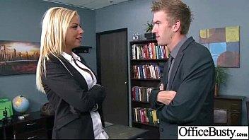 (britney shannon) Big Round Tits Girl Enjoy Sex In Office clip-10