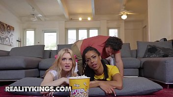 Rk Prime - (kira Noir,Anastasia Knight,Robby Echo)- Dick Flicks And Chill - Reality Kings