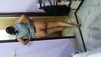 Showing sexy ass after fuck