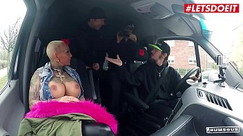 LETSDOEIT - German Busty Babe Kitty Core Have Some Hardcore Fun On The Bus