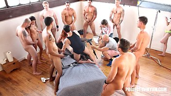 Burning man gang bang - Dani jensen 15-man all holes all loads extended trailer