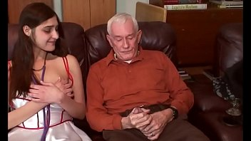 young brunette first time debut with grandpa Porno indir