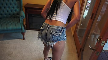 Sexy Shorts House Cleaner