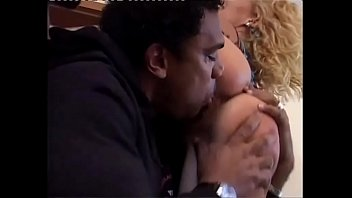 Black Cock Screws A Blonde Slut