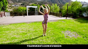 ExxxtraSmall - Tiny Teen With Pigtails Gags On Huge Cock thumbnail
