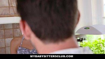 MyBabySittersClub - Hot BabySitter (Olivia Lua) Becomes Fulltime Sexsitter 12 min