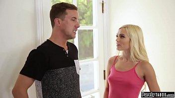 Teen brat wanting neighbour to fuck her
