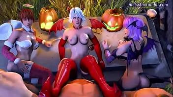 Dead or Alive 5 Ultimate Halloween edition pornhub video