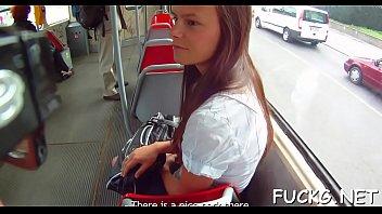 Hardcore ride on a hidden web camera 5分钟