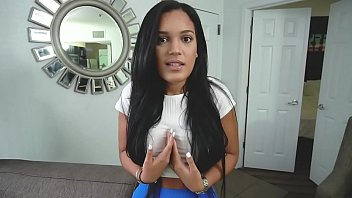 Thick Ass Latina Hottie (Alina Belle) Takes a Huge Cock Deep Inside Her
