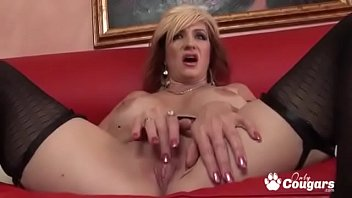 MILF Brittany Blaze Has Her Wrinkled Old Pussy Nailed