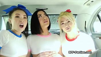 Talented Korean Cuties Blowing The Producers Dick